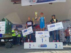 Zwycięstwo w Triathlon Skarżysko-Kamienna