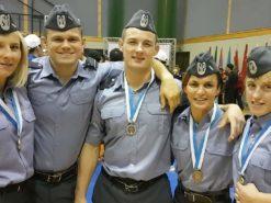 Zapaśnicy Wojskowych Mistrzostw Świata z medalami!